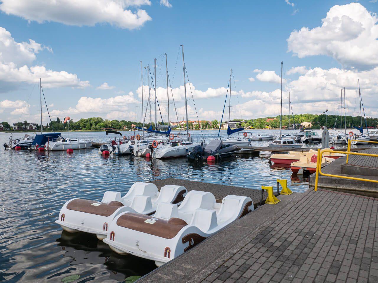Port Ostróda rowery wodne