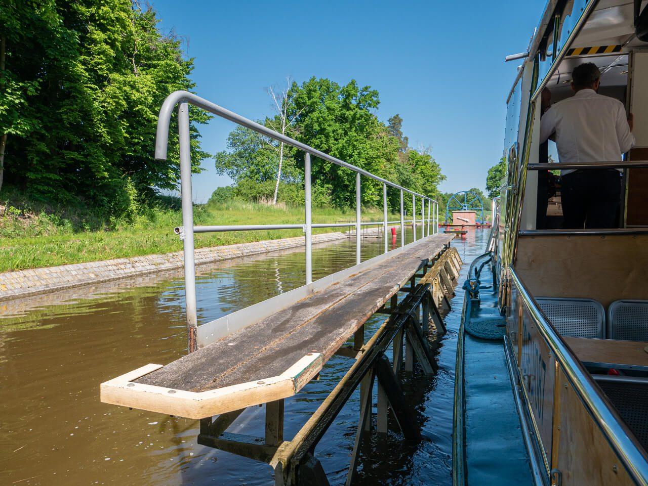 Wózek transportowy Kanał Elbląski