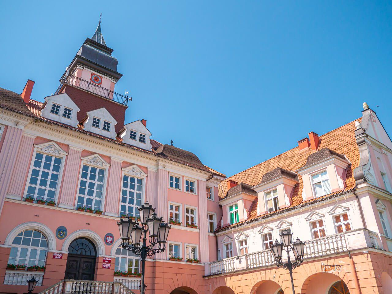Budynek ratusza w Iławie