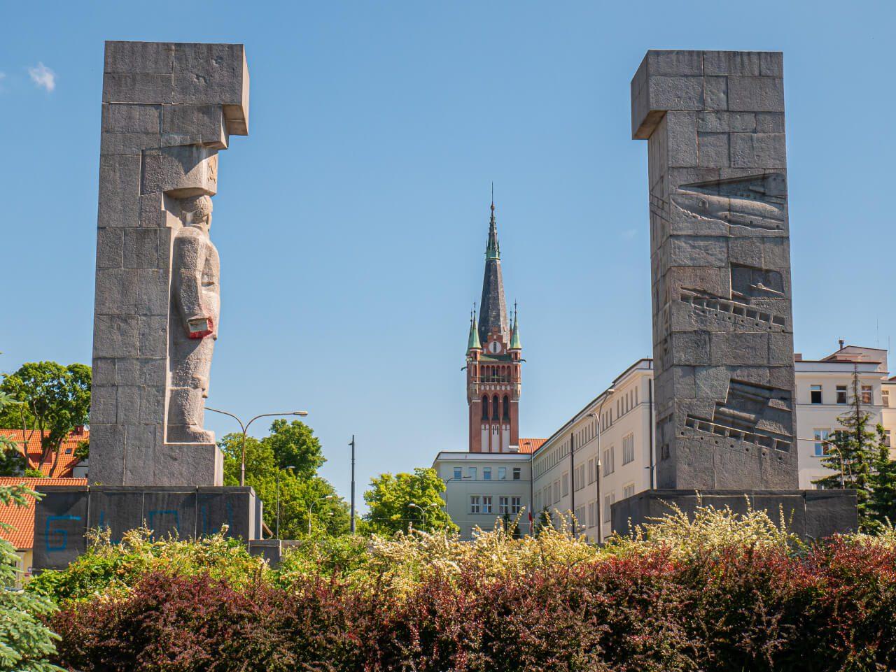 Pomnik wyzwolenia ziemi warmińskiej i mazurskiej Olsztyn