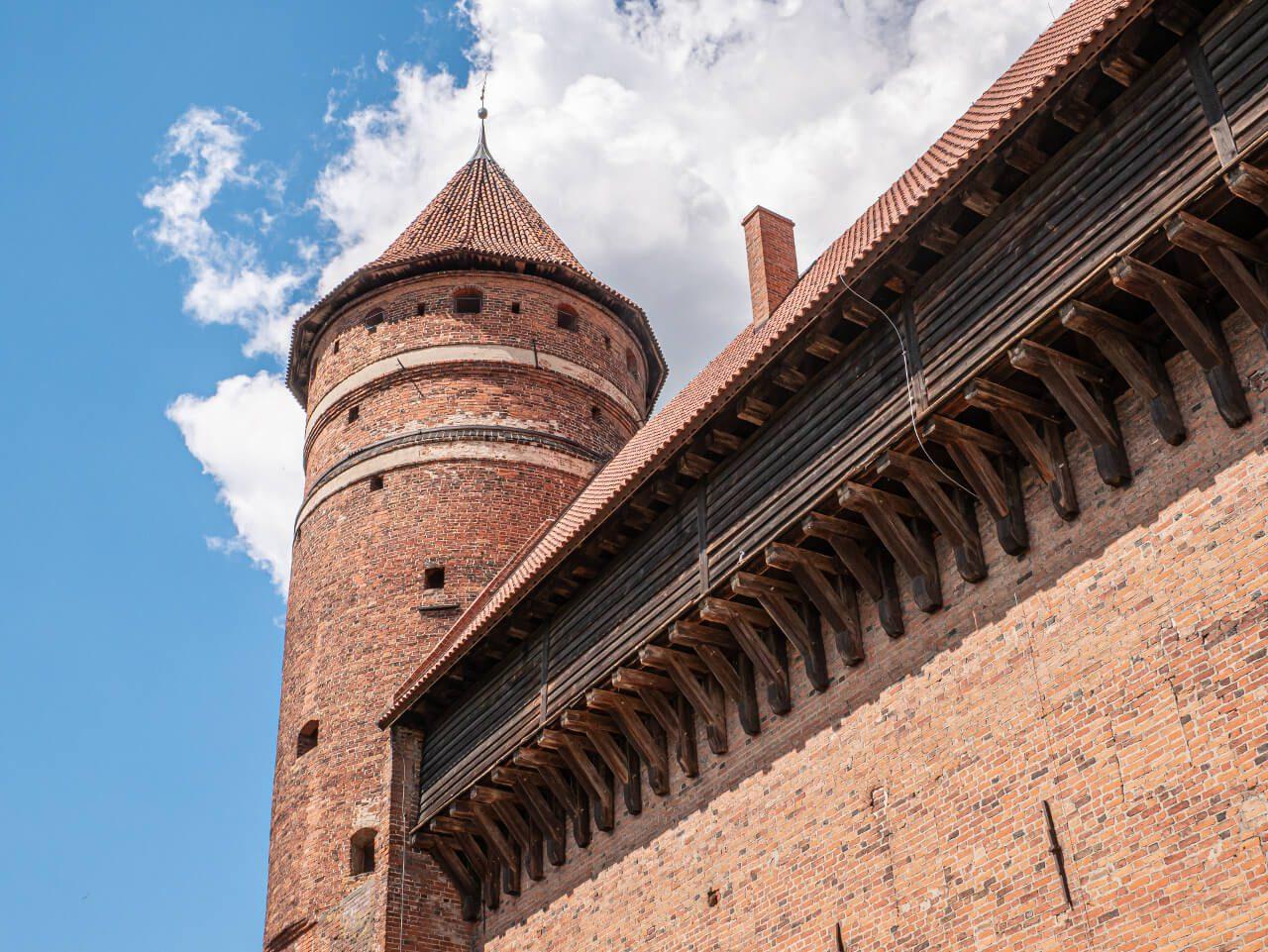 Zamek Kapituły Warmińskiej wieża zamkowa