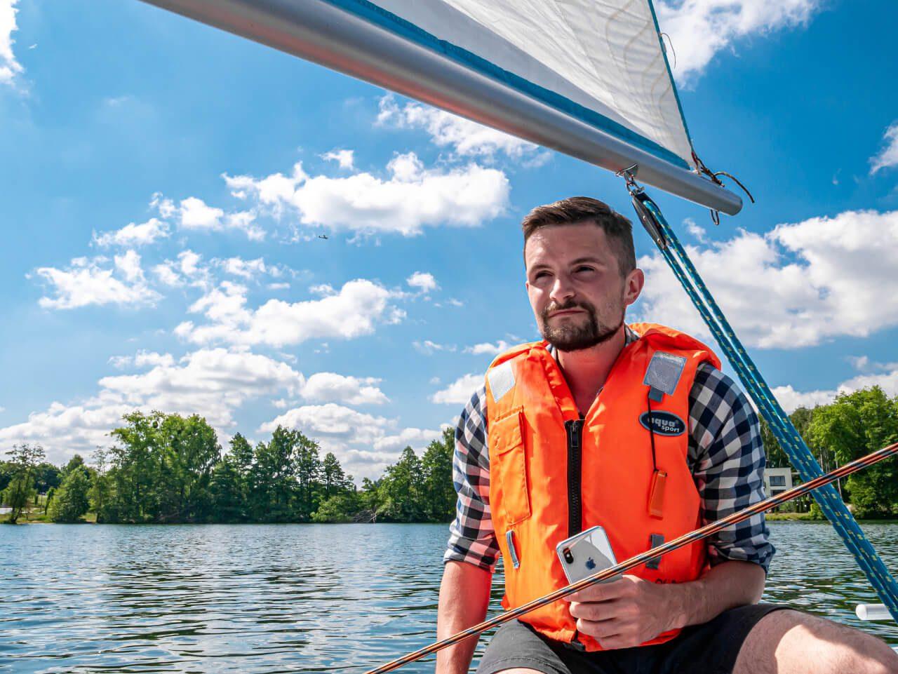 Jezioro Ukiel Olsztyn atrakcje sporty wodne