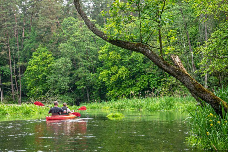 Olsztyn aktywny wypoczynek kajaki jeziora
