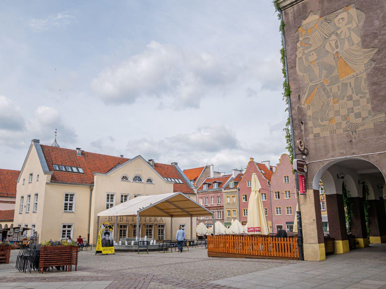 Rynek Olsztyn Stary Ratusz zwiedzanie