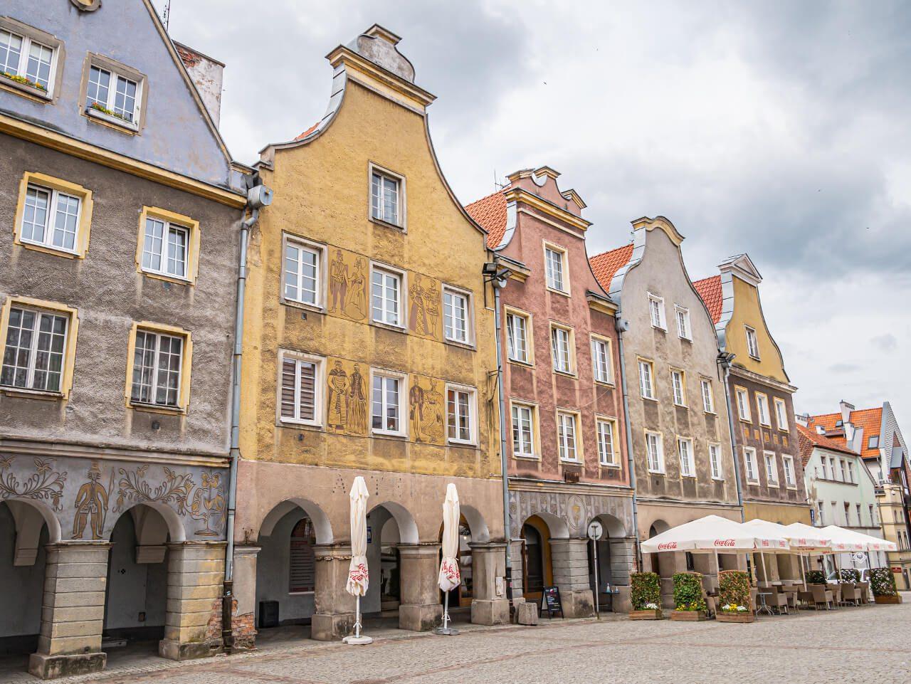 Stare Miasto Olsztyn kamienice