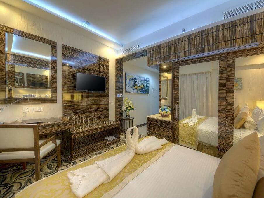 Dubaj gdzie spać noclegi Orchid Vue Hotel