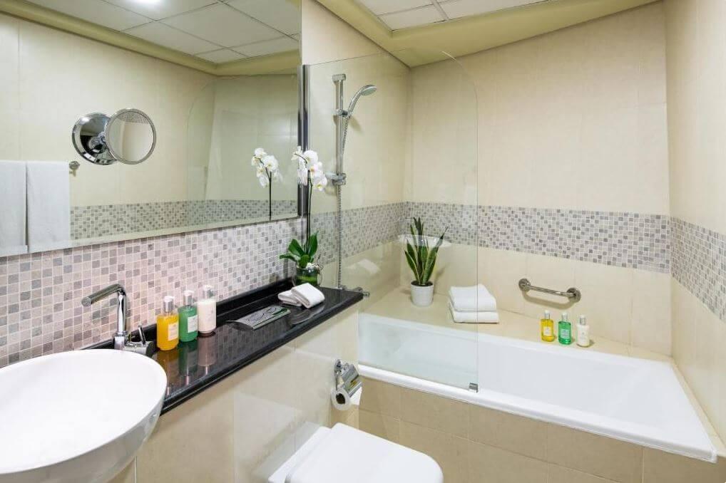 Dubaj gdzie spać noclegi Citadines Metro Central Apartments