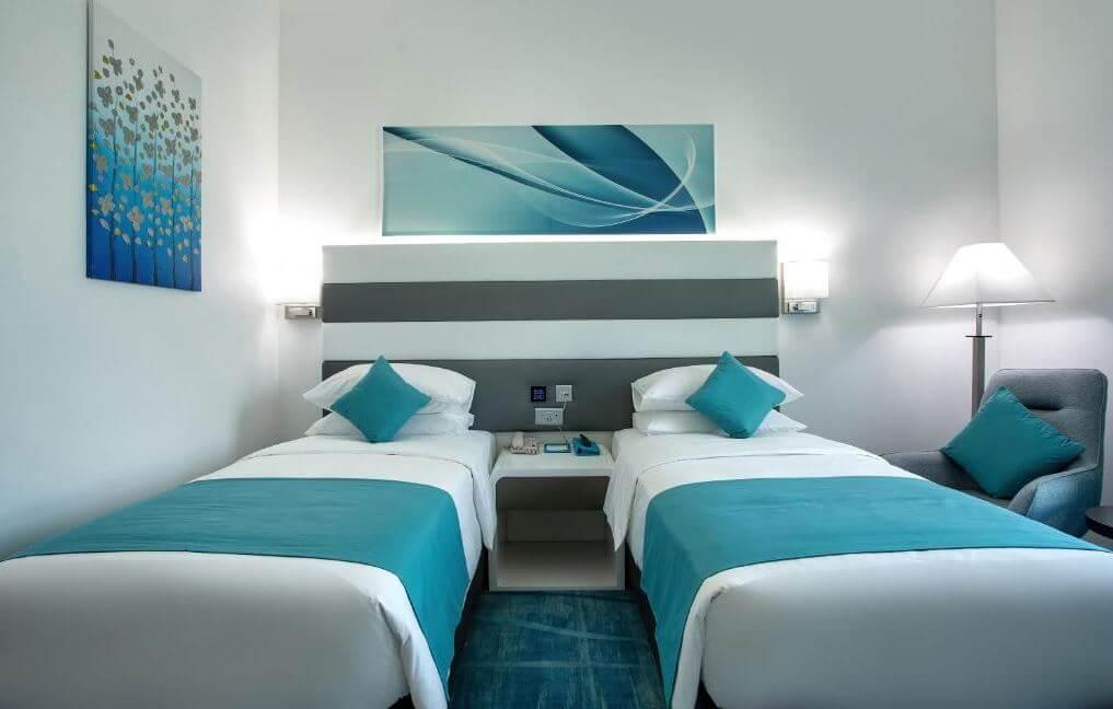 Dubaj gdzie spać noclegi City Avenue Al Reqqa Hotel