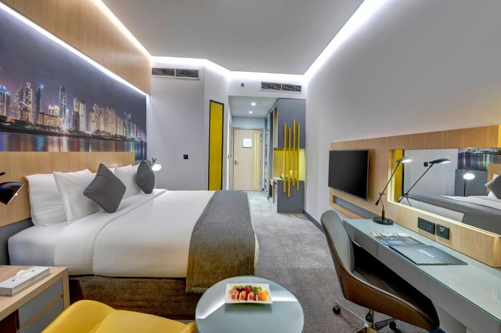 Dubaj gdzie spać noclegi URBAN Al Khoory Hotel