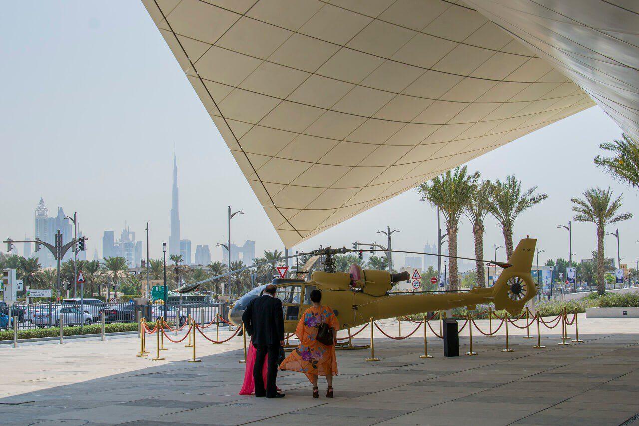 Etihad Museum Dubaj