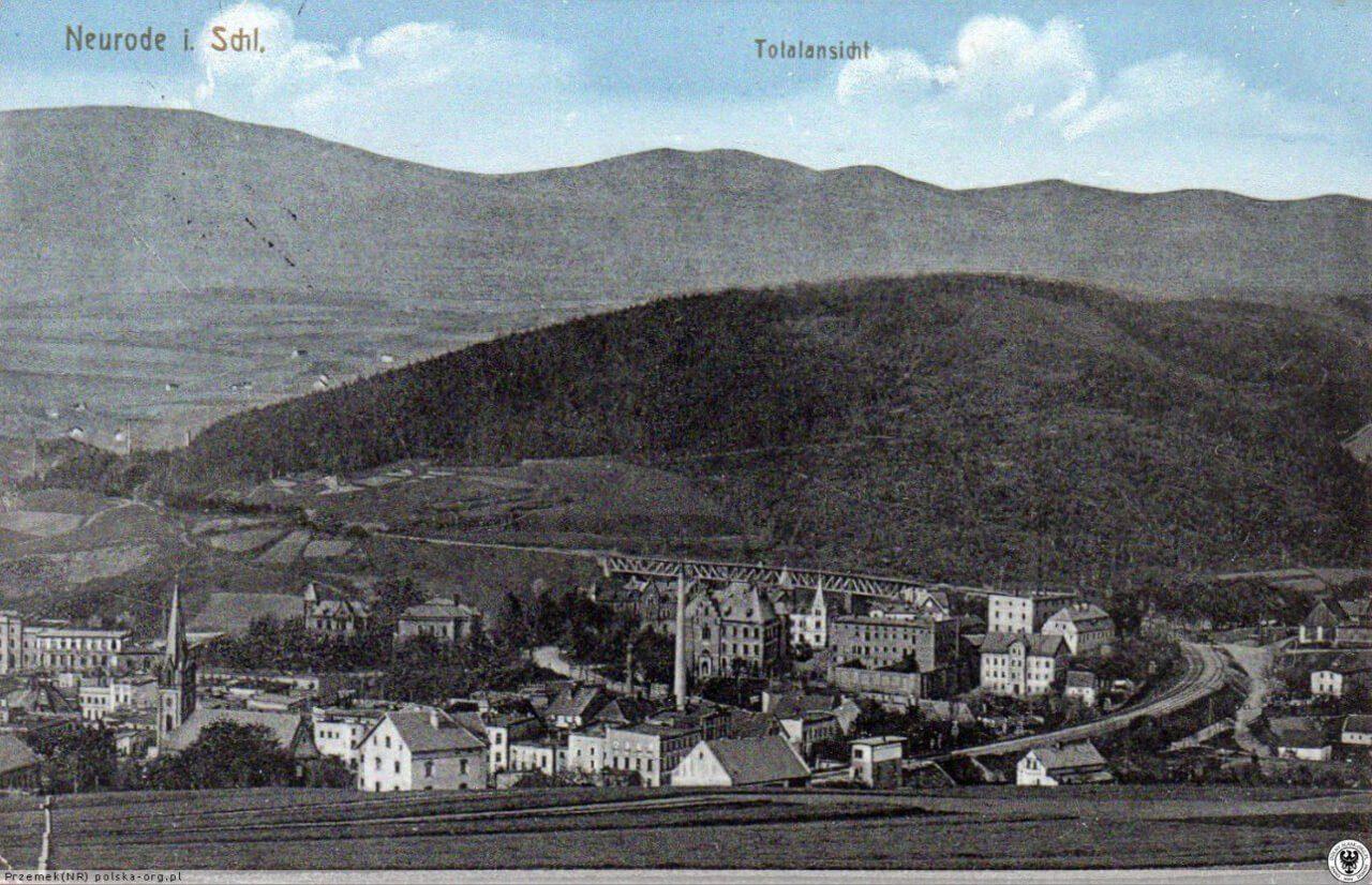 dawna Nowa Ruda5 miasto górnicze Ruda Góra zdjęcie archiwalne