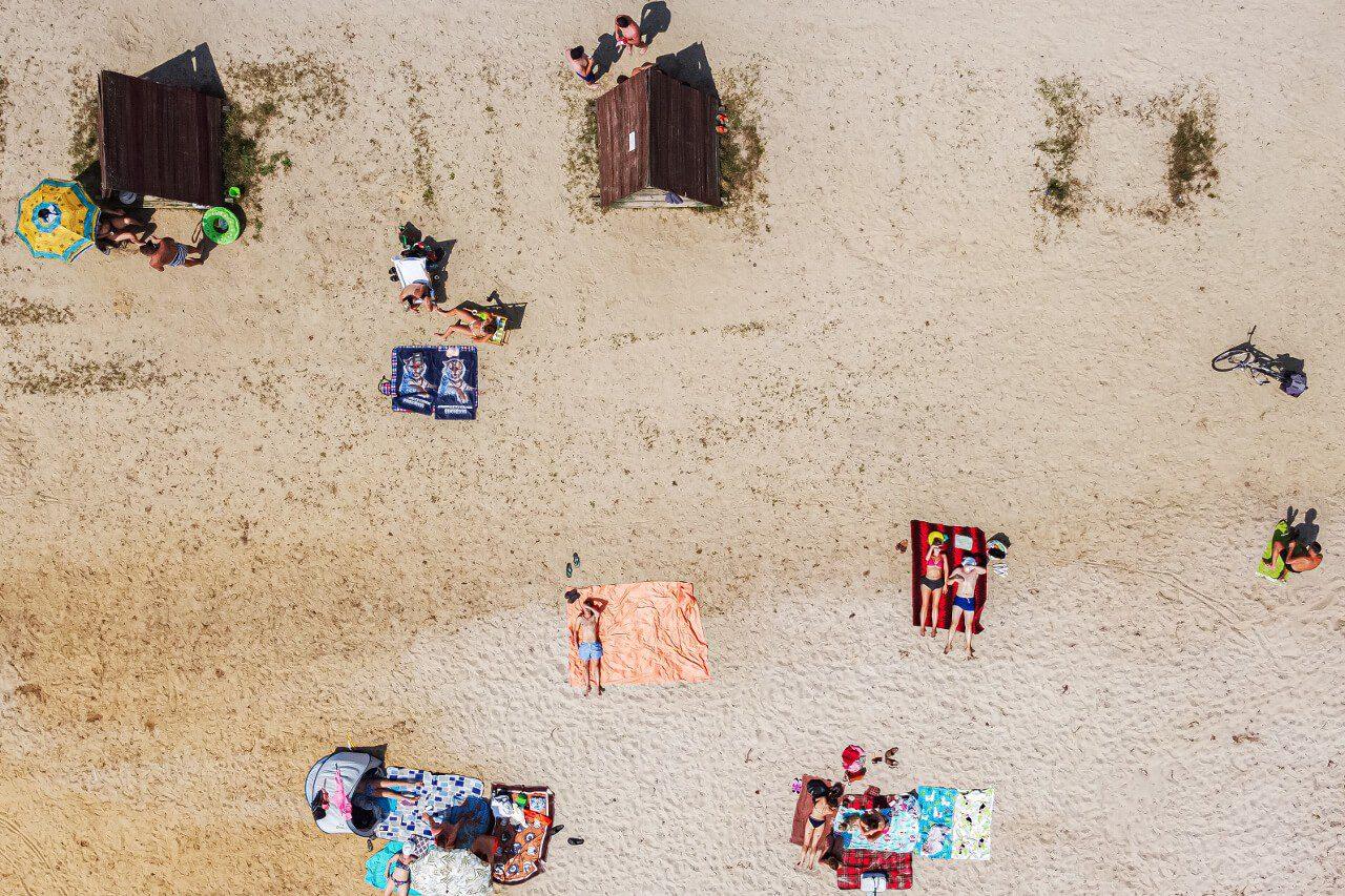 Zalew Stradomia Wierzchnia4 Plaża Obok Sycowa