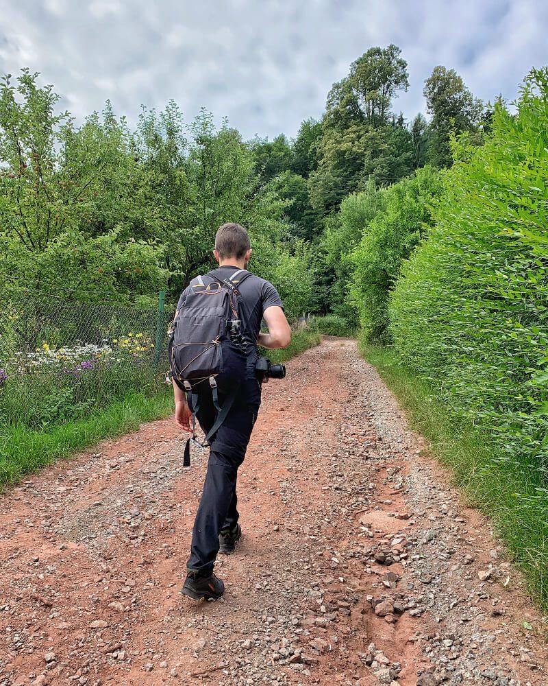 Trasa na Górę Świętej Anny Góry Sowie1 weekend w górach