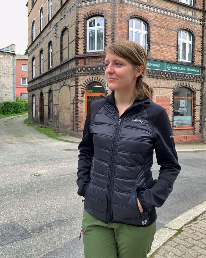 lekka kurtka Viking Becky na jesień i wiosnę chłodne poranki odzież turystyczna ubrania w podróż co ubrać w góry
