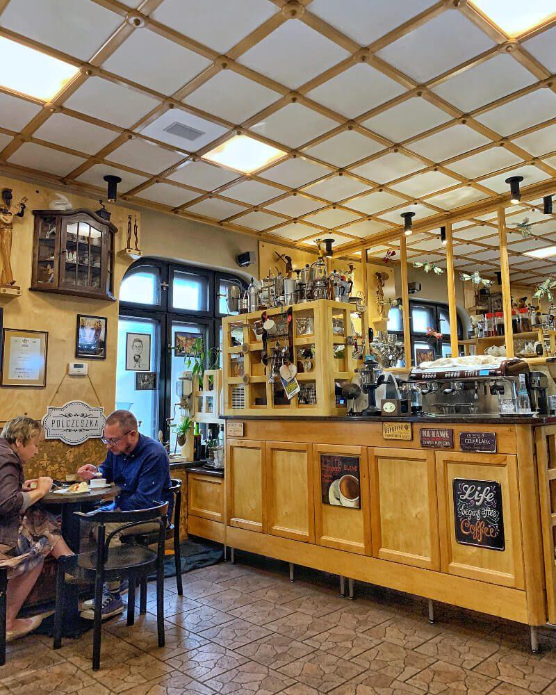 gdzie na kawę kawiarnia w Nowej Rudzie3 Biała Lokomotywa