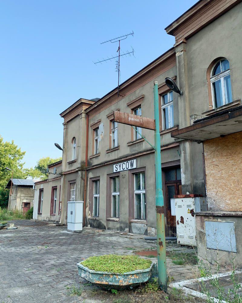Stacja kolejowa w Sycowie