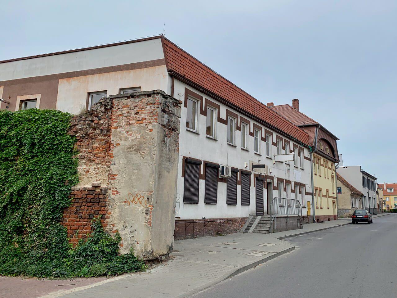 Mury miejskie Ogrodowa Syców