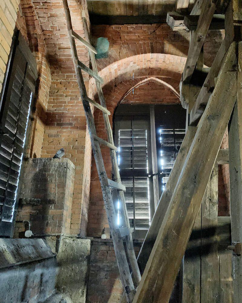 Wnętrze Krzywa Wieża Ząbkowice Śląskie