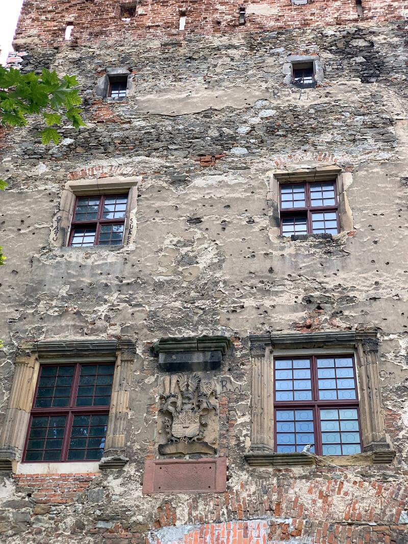 Zamek w Ząbkowicach Śląskich ruiny