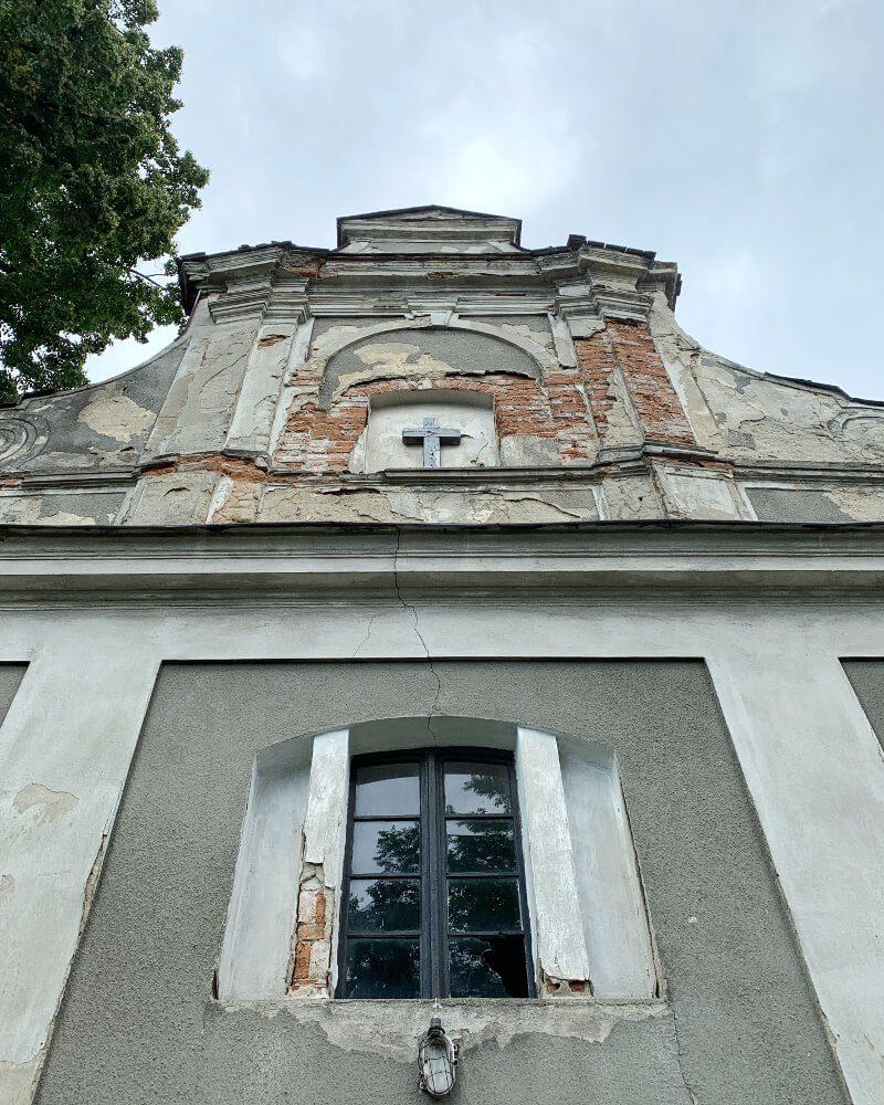 Ząbkowice Śląskie cmentarz grabarze kaplica