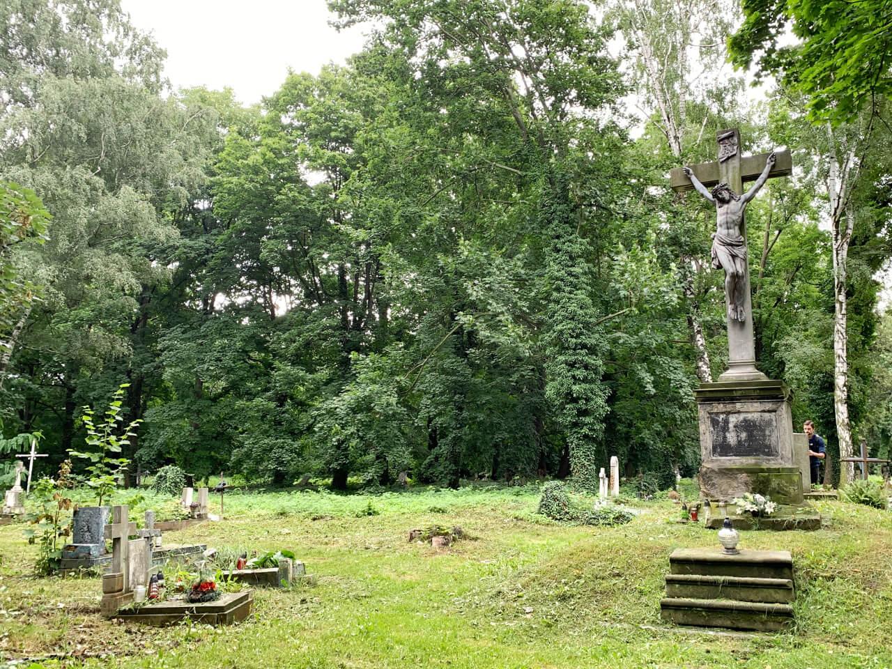 Ząbkowice Śląskie cmentarz groby