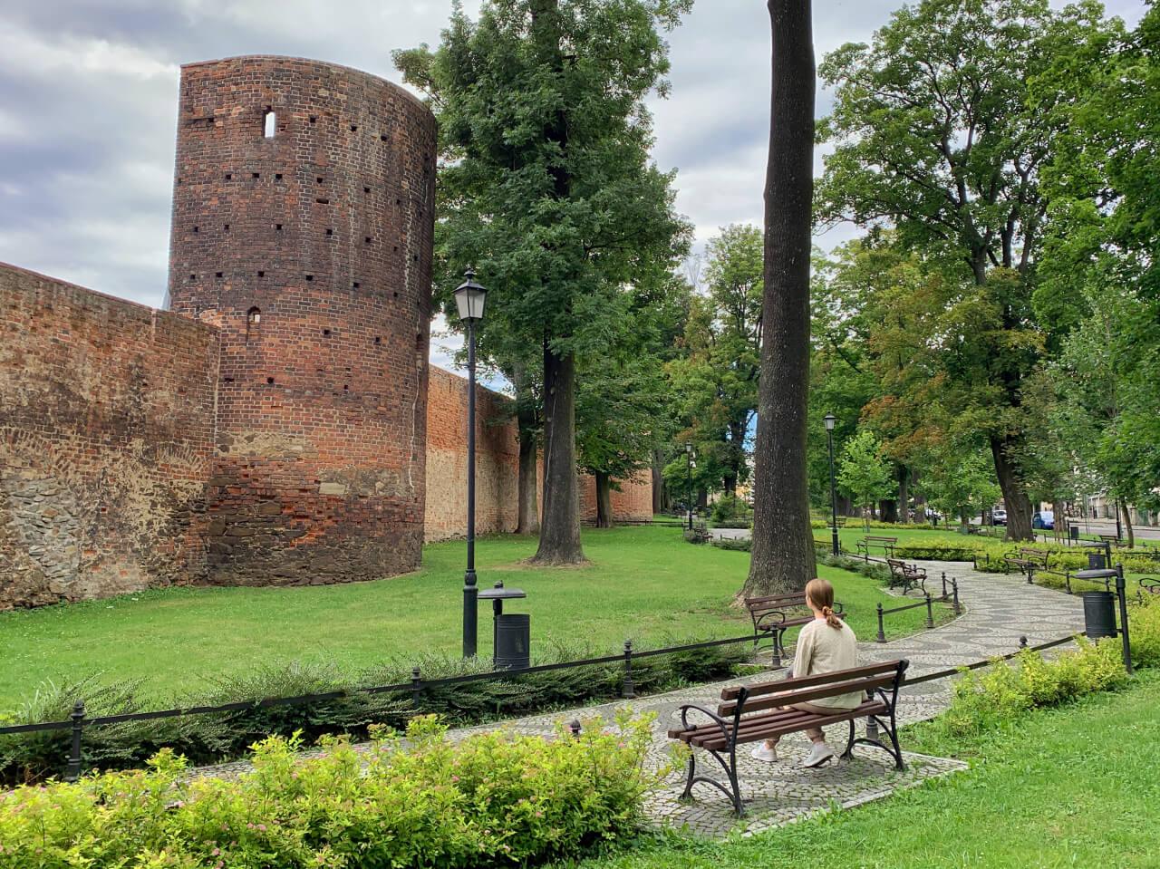 Mury obronne Ząbkowice Śląskie baszty