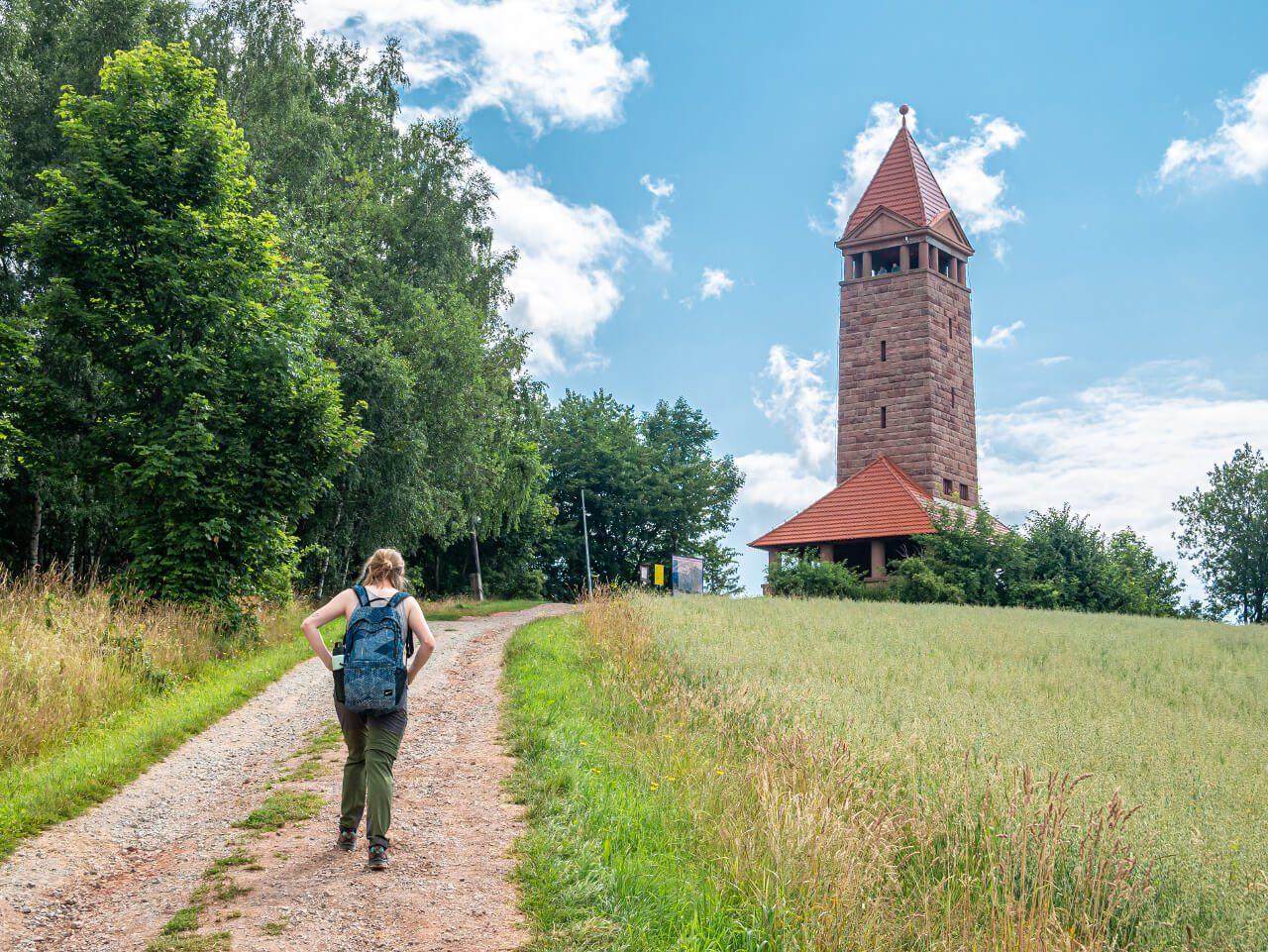 Szlak na Górę Św. Anny jak dojść na wieżę widokową