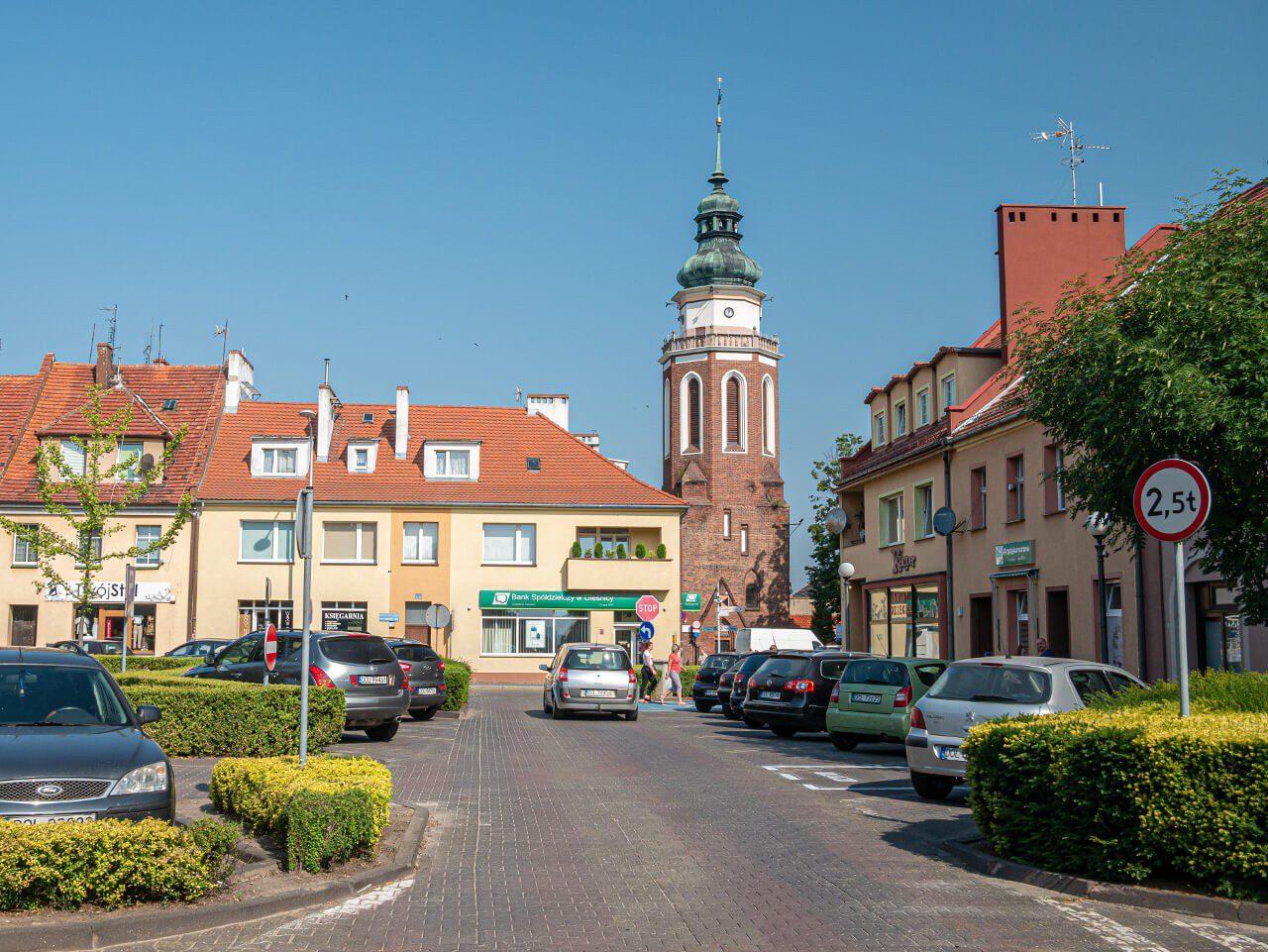 Plac Wolności w Sycowie atrakcje