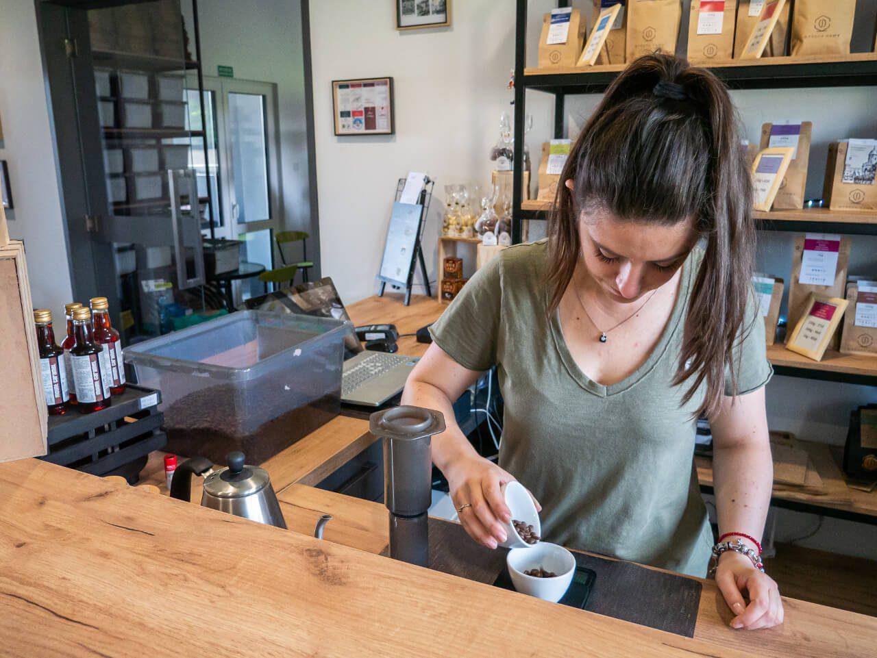 Palarnia Kawy Strefa Kawy Kawiarnia Co Warto Zobaczyć w Sycowie