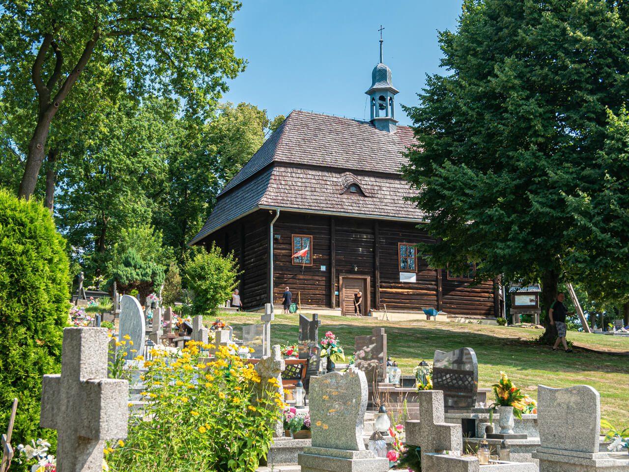 Kościół św Marka Święty Marek Co zobaczyć Syców Okolice