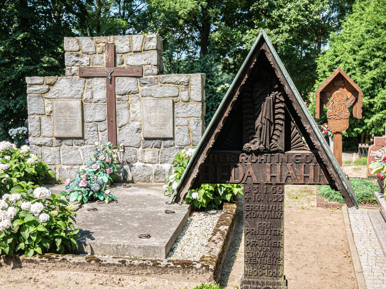 Kościół św Marka Święty Marek3 Cmentarz Okolice Sycowa Atrakcje