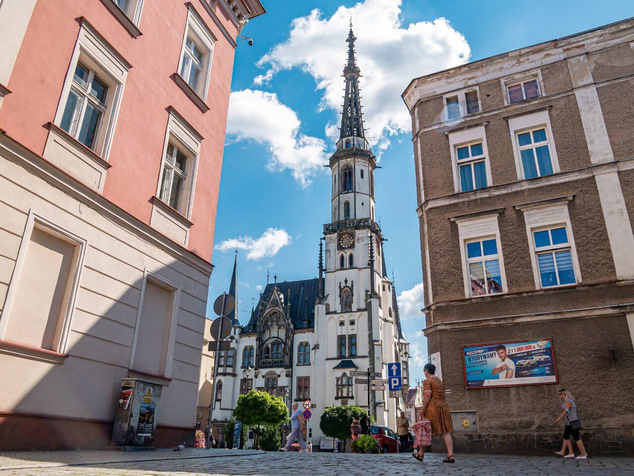 Ratusz Ząbkowice Śląskie wieża