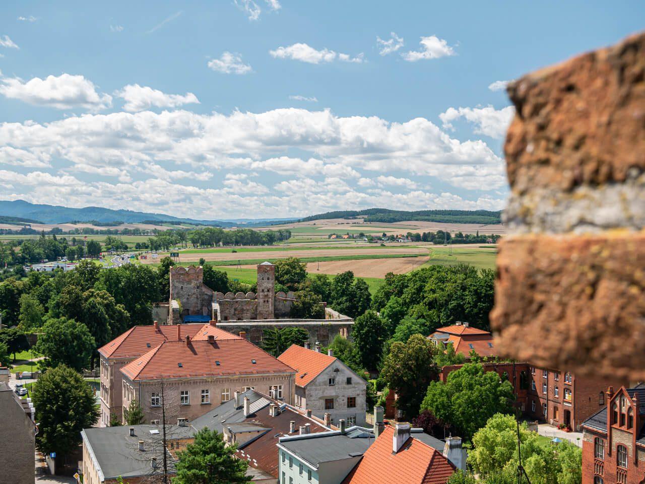Taras widokowy Krzywa Wieża Ząbkowice Śląskie atrakcje