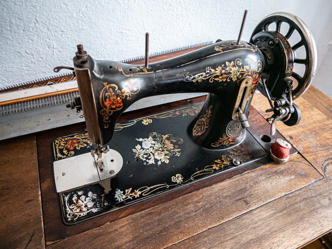 Maszyna do szycia Ząbkowice izba pamiątek regionalnych
