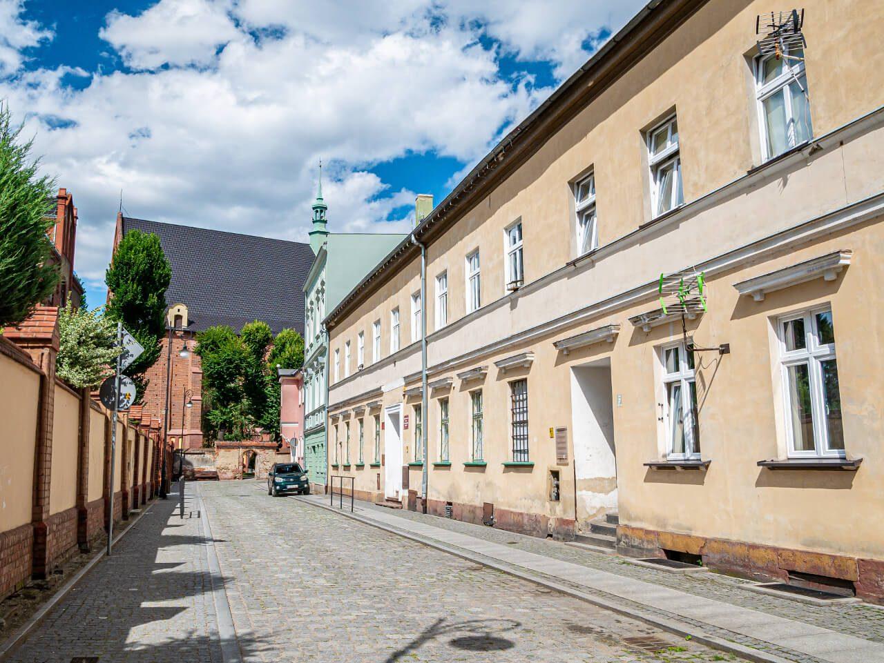 Ulica Krzywa Ząbkowice Śląskie