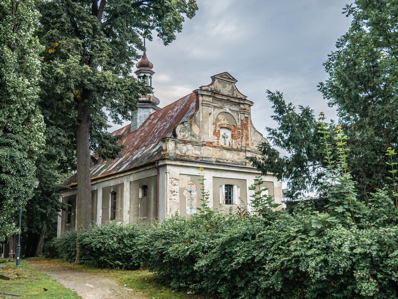 Kościół cmentarz Ząbkowice Śląskie atrakcje