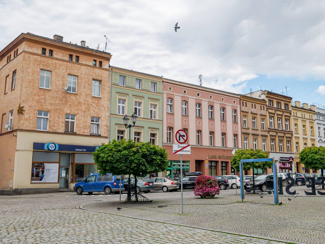 Kamienice Rynek Ząbkowice Śląskie