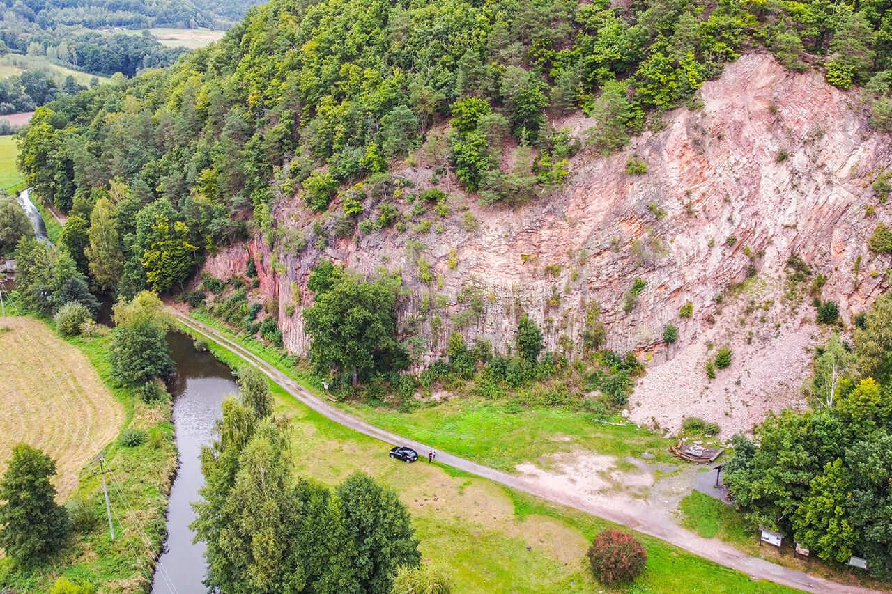 Organy Wielisławskie na Wielisławce Park Krajobrazowy Chełmy1 Kraina Wygasłych Wulkanów Co Trzeba Zobaczyć Punkt Widokowy Średniowieczny Zamek