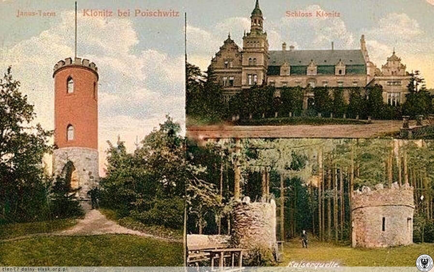Pałac Murowany w Kłonicach Niedaleko Wieży Widokowej Radogost W Park Krajobrazowy Chełmy1 Atrakcje Co Warto Zobaczyć Zdjęcia Archiwalne