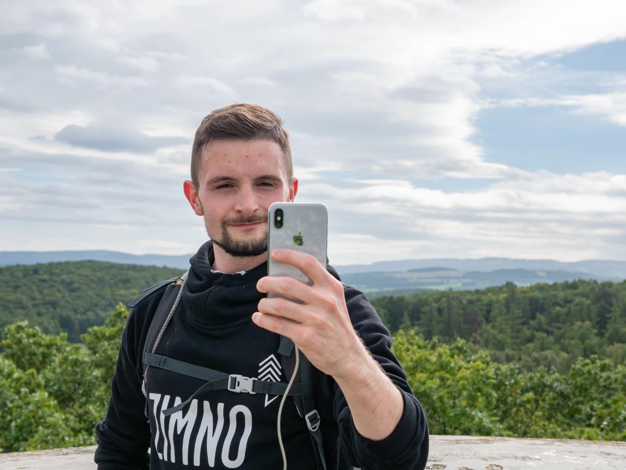 Widok z Wieży Widokowej Radogost Panorama Widok na Okolicę Kłonic Atrakcje Parku Krajobrazowego Chełmy1