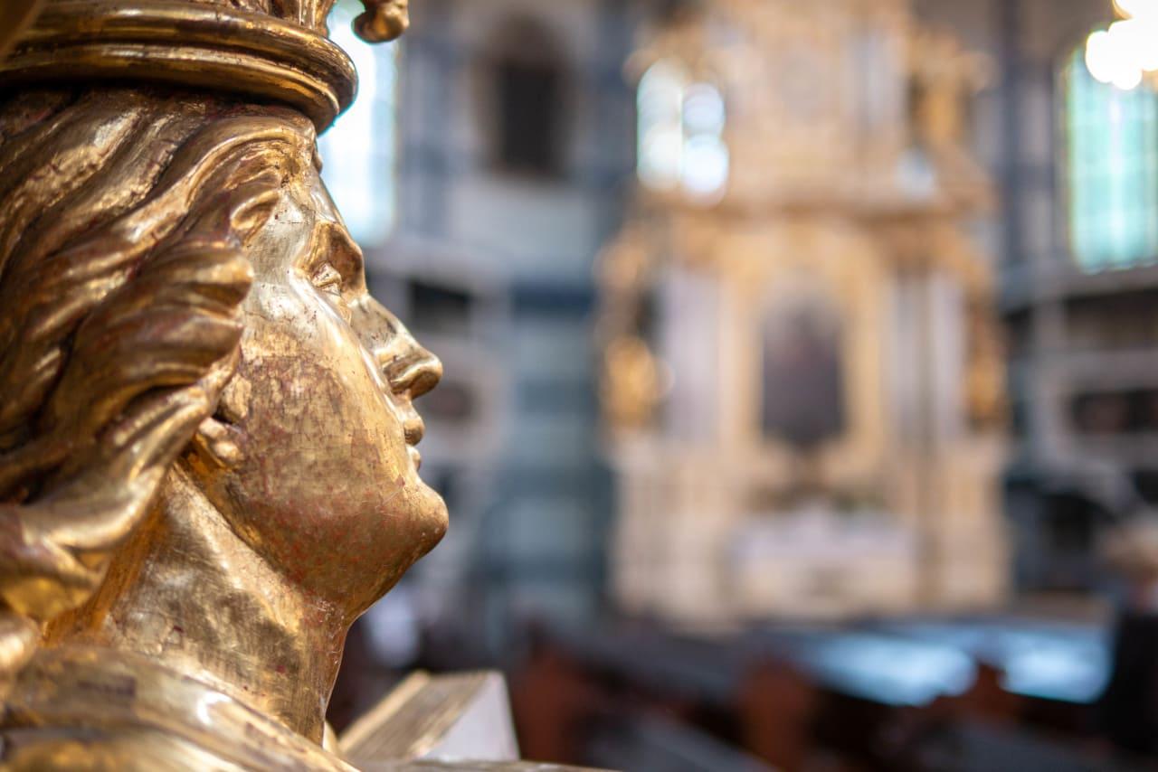 Kościół Pokoju Jawor Zabytek z Listy Światowego Dziedzictwa UNESCO Dolny Śląsk Bogato Zdobione Wnętrze Architektura Sakralna Złote Ornamenty