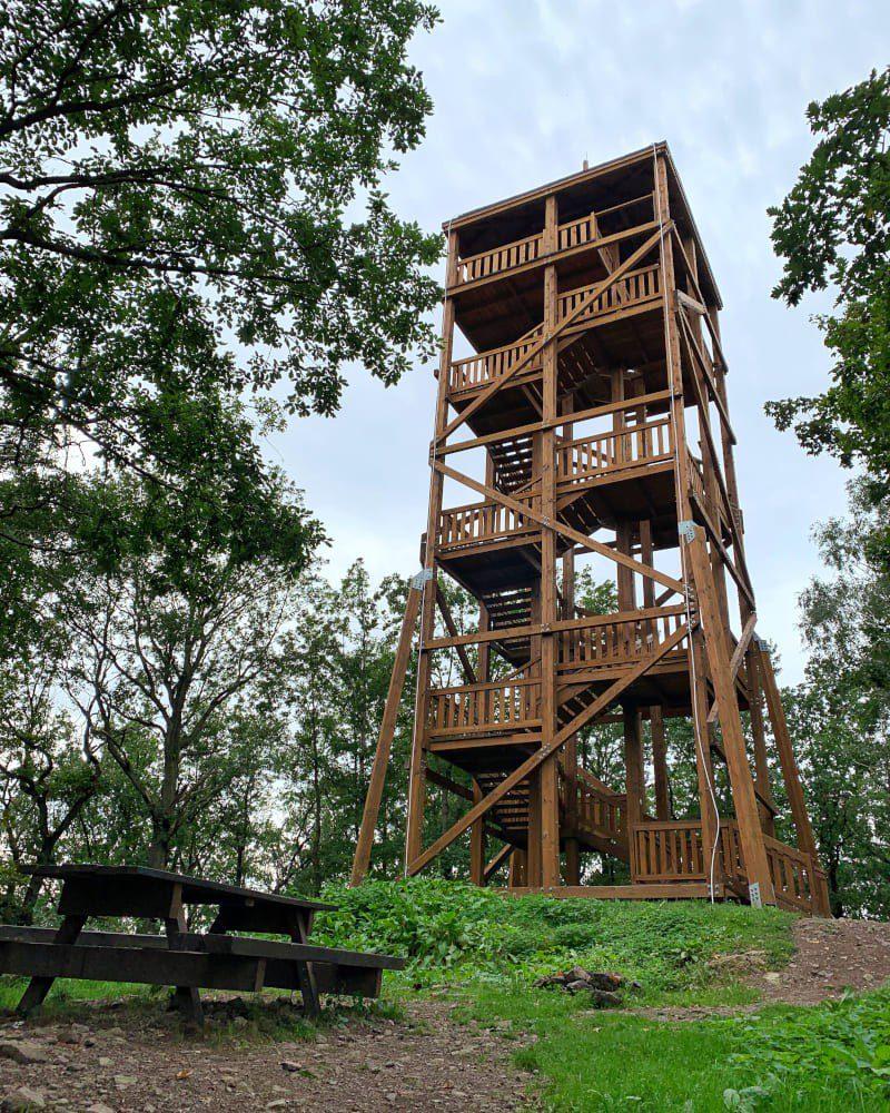 Wieża Widokowa w Gozdnie Góra Wzgórze Zawodna Spacer na Wieżę Widokową w Parku Krajobrazowym Chełmy1 Gdzie na Weekend